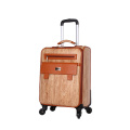 20'24'28 inch spinner wheels  fancy leather luggage