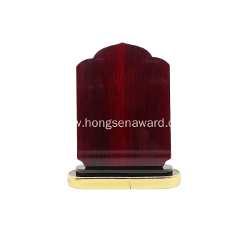 Custom Souvenir Wooden award plaque frame trophy