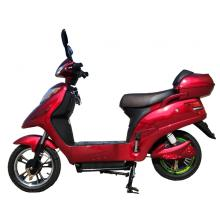Pedal and knob start engine electric scooter