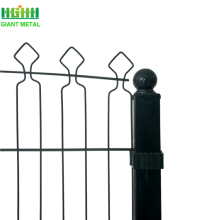 Hot sale for Palisade steel fence Cheap PVC Coated Decofor Panel Fence export to Canada Manufacturer