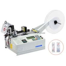 Automatic Cutting Machine for Trademark Cool and Hot Knife