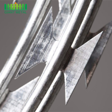 Hot Dipped Galvanized Razor Concertina Barbed Wires