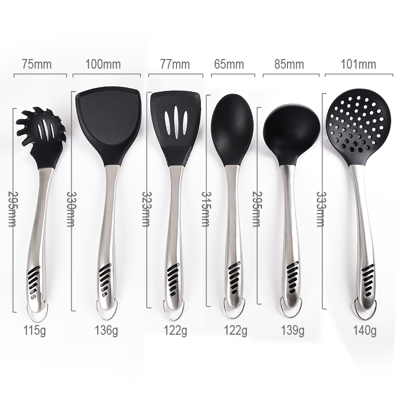 Cooking Tool Set Stainless Steel
