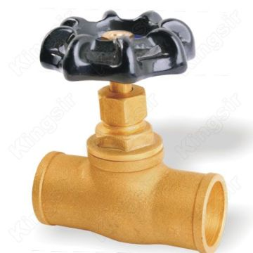 High quality factory for Stop Valves Gland Packings Globe Valve With Solder Ends supply to Maldives Manufacturers