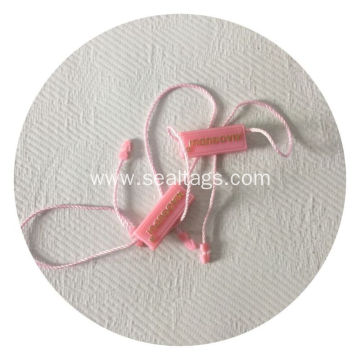 Colorful Plastic Plain String Lock Seal Tag