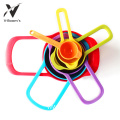6PC Rainbow Kitchen Measuring Spoon Set