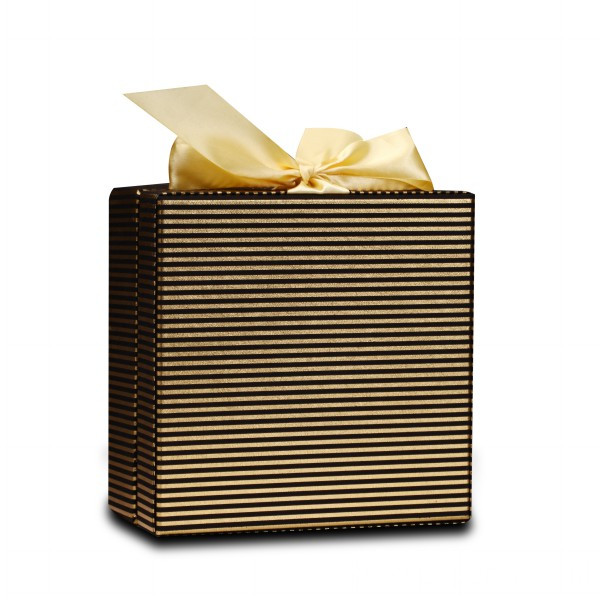 Ribbon Box Shoulder Coated With Special Paper