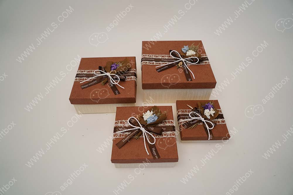 Butterfly shaped square candy box