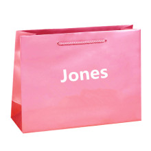 Cheap price for Paper Shopping Bags With Handles Customized logo fashion shopping bags supply to Guinea Wholesale