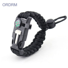 Online Exporter for Paracord Survival Bracelet Wide Firefighter Paracord Bracelet With Compass export to Indonesia Suppliers
