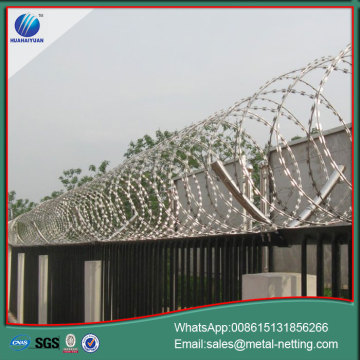 military ribbon wire razor concertina wire