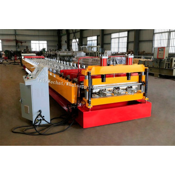 Steel floor decking roll forming machine price
