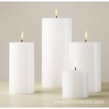 fragrance pillar candle for wedding