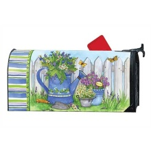 Custom colorful painted magnet mailbox cover