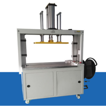 MH-106A automatic strapping machine with top compression