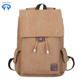 Simple canvas backpack for college style travel bags