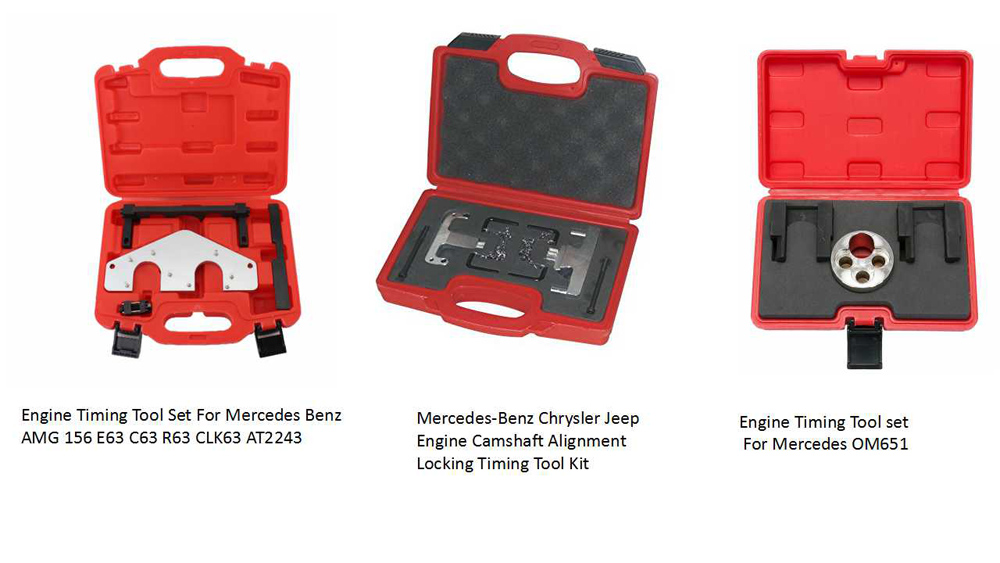 Engine timing tools for Benz