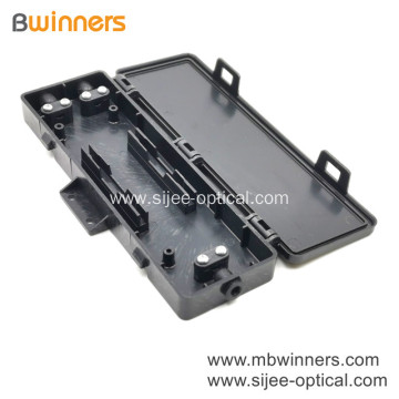 2 Port Pc Mini Fiber Optic Termination Box Plastic Box