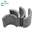 Segment Arc Ferrite Magnet for  WiperMotor