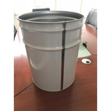 white and transparent laminated tinplate for paint cans