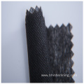 Low temperature fusing polyester paper interlining fabric