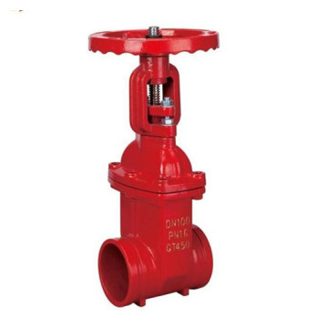 Fire fighting grooved water os&y Gate valve