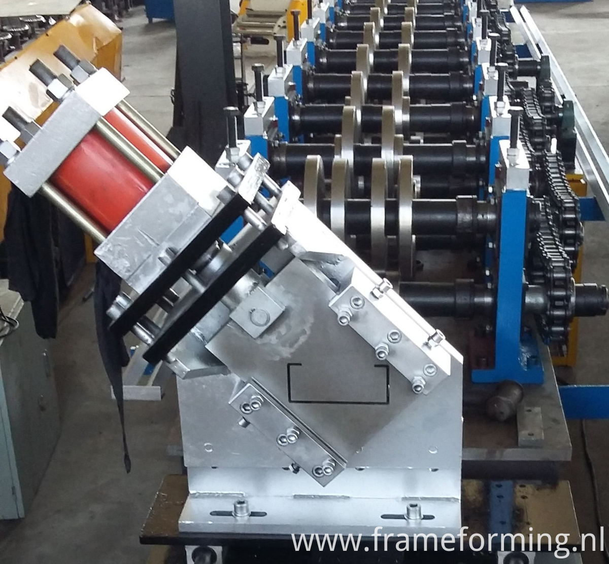 Limitless hydraulic c frame machine