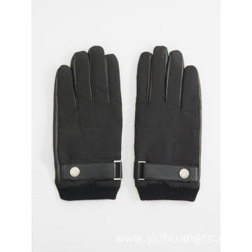 Customized casual polyester sewing mens glove