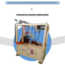 Easy operation U-head jack base welding machine