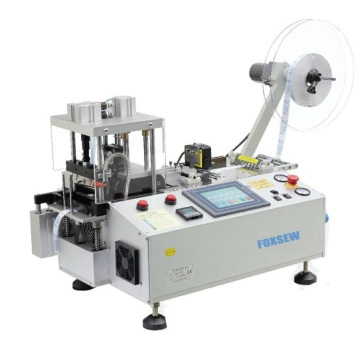 Automatic Label Cutting Machine Hot Knife with Sensor and Collecting Device