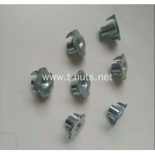 M6x7 Full thread Zinc plated Tee nuts