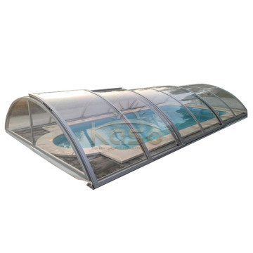 ODM for Polycarbonate Swimming Pool Enclosures Slide Shelter Swimming Pool Telescopic Cover export to Nauru Manufacturers