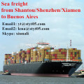 Ocean Freight From Shantou Shenzhen to Buenos Aires