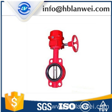 Wholesale Price China for Wafer Center Butterfly Valve Gear Operated Butterfly Valve D371X-16 supply to French Guiana Factories