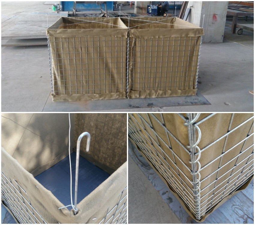 millitary hesco barrier