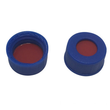 Blue Cap for 9mm Autosampler Vial