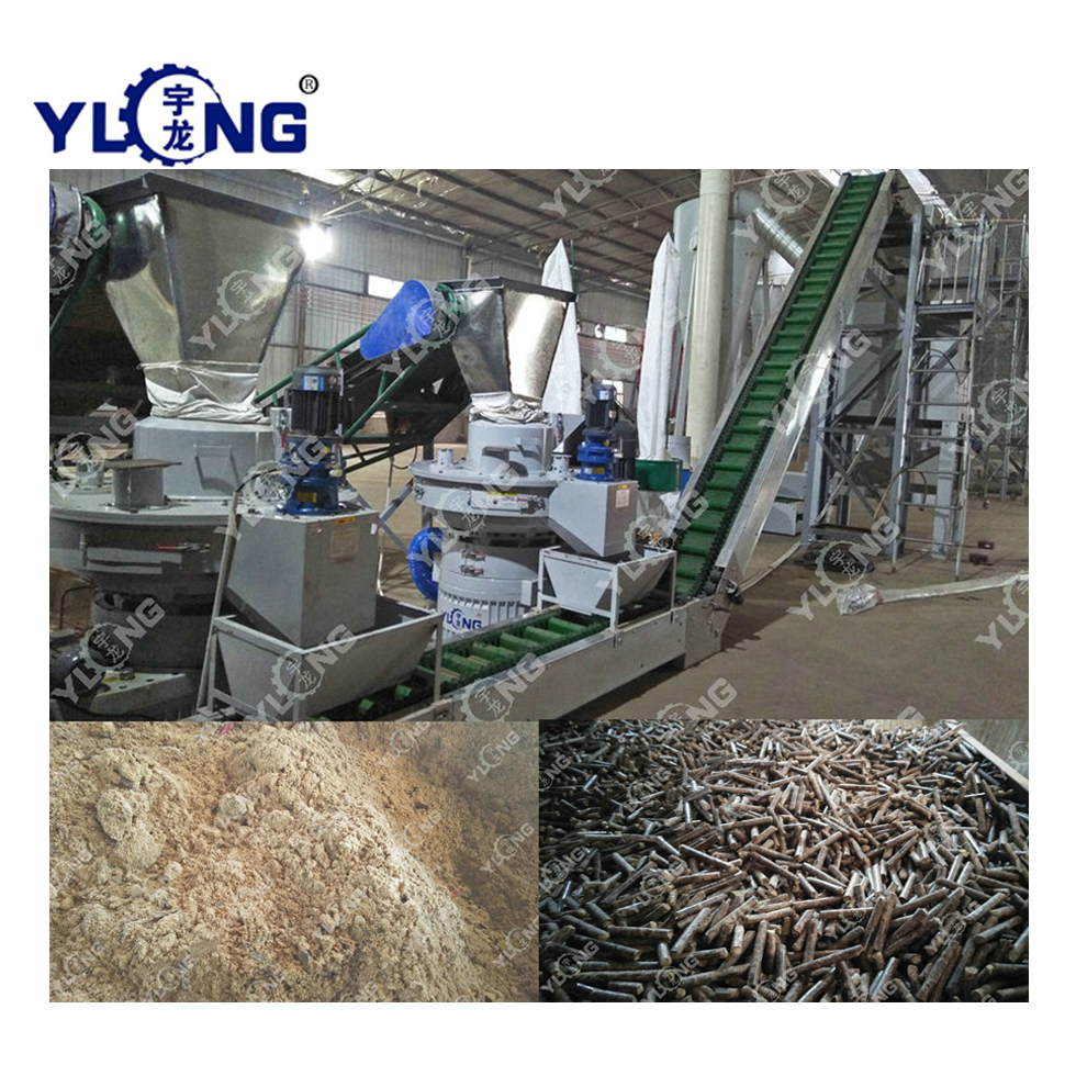 wood pellet equipment machine
