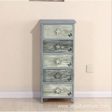 Factory 5 layers Vintage Nightstands for Kids