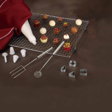 stainless steel cookie utensil 12pcs
