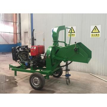 22hp diesel engine wood chipper