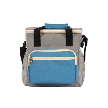 Insulated Men Cooler Lunch Bag with Shoulder Strap