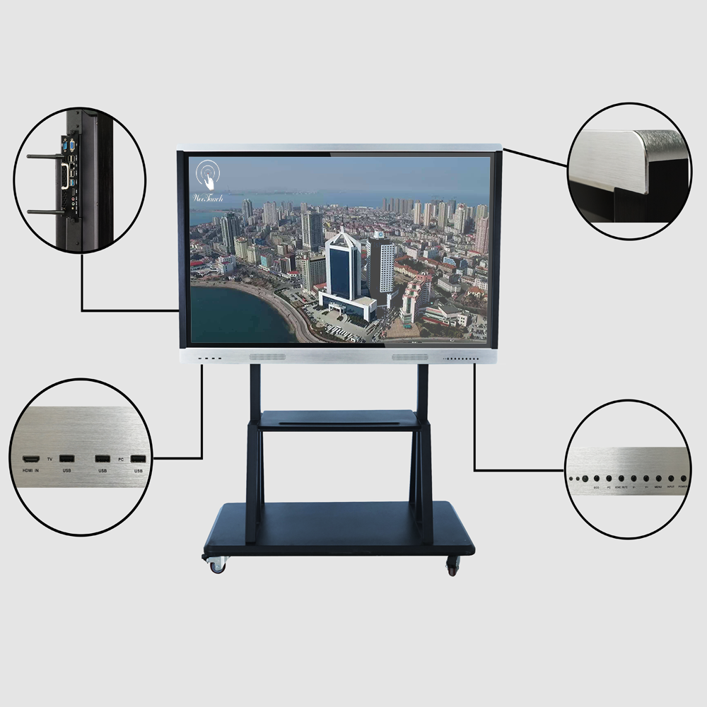 65 inches Business smart LCD with mobile stand