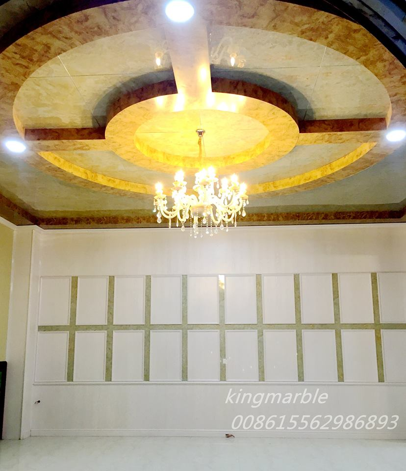 artificial Pvc interior decoration sheet
