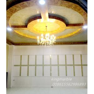 Hot sale Factory for Pvc Ceiling Tiles With Marble Texture Construction materials false plastic pvc wall panel supply to Ukraine Supplier
