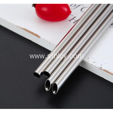 Food Grade Stainless Steel Straw Reusable Drink Straw