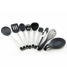 China for China Silicone Utensils Set,Kitchen Silicone Utensils Set,Silicone Cooking Utensils Tool Set Manufacturer kitchen utensil set silicone cooking tool set export to Japan Supplier
