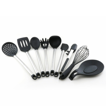 kitchen utensil set silicone cooking tool set