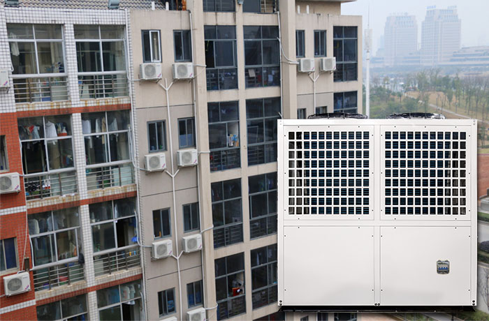 Heat Pump for Hotel Use