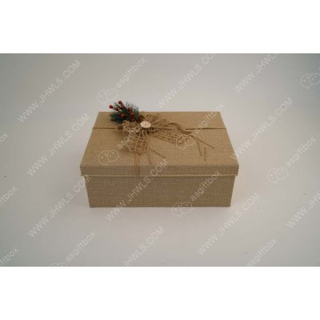 A Hand-made Christmas Gift Box