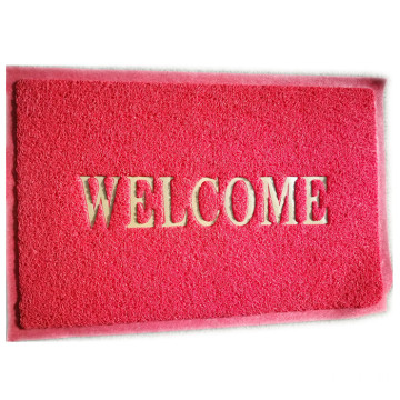 Welcome sign home door mat